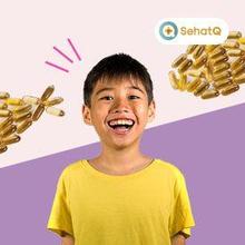 Vitamin otak untuk anak 7 tahun yang direkomendasikan adalah Omega 3.