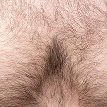bulu dada pada pria