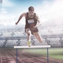 Lari gawang termasuk cabang lari atletik yang dimainkan dalam nomer lari jarak pendek
