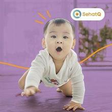 Bayi 9 bulan mulai aktif bergerak dan belajar merangkak