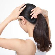 Menguncir rambut