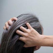 Rambut abu-abu tumbuh karena hilanya sel pigmen pada folikel rambut yang menghasilkan melanin