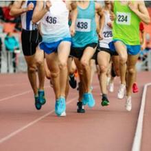 Nomor lari jarak menengah adalah 800 meter hingga 3000 meter