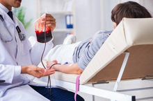 Transfusi darah untuk orang yang mengalami pendarahan