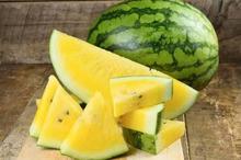 Semangka kuning tidak mengandung likopen, tetapi mengandung beta-karoten yang juga merupakan antioksidan