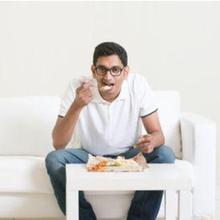Cara mengunyah makanan dilakukan dengan mengunyahnya dalam jumlah yang tepat