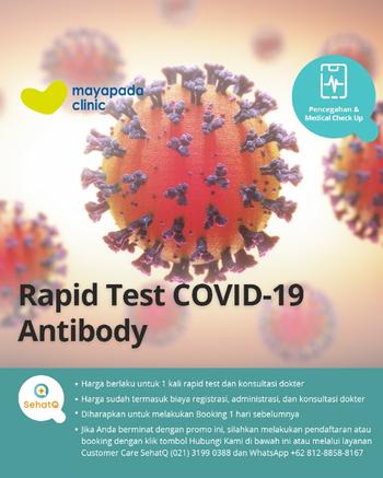 Rapid Test COVID-19 Antibody - Mayapada Clinic