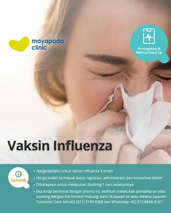 Vaksin Influenza 4 Strain – Mayapada Clinic