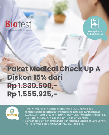 Medical Check Up (Paket A) - Laboratorium Klinik Biotest