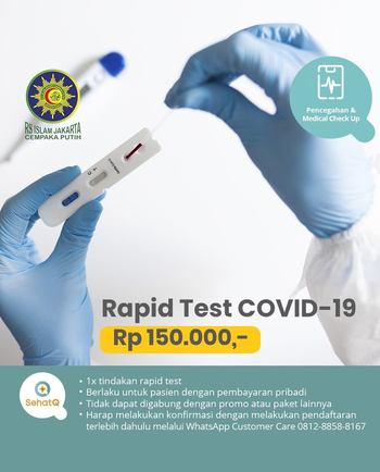 Rapid Test COVID-19 - RS Islam Jakarta Cempaka Putih