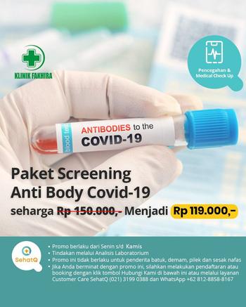 Rapid Test COVID-19 - Klinik Fakhira