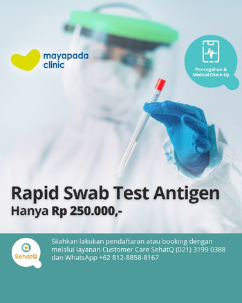 Rapid Swab Test Antigen Covid-19 - Mayapada Clinic