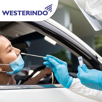 Drive Thru Rapid Antibody Kuantitatif Test COVID-19 -  Laboratorium Klinik Westerindo