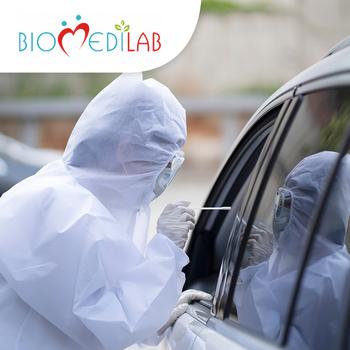 Swab PCR Test COVID-19 (Hasil 1 Hari) - Laboratorium BiomediLab