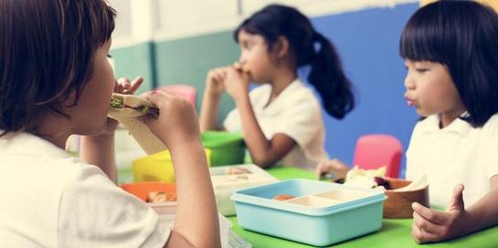 Bekal anak sekolah sebaiknya dilengkapi dengan makanan bergizi