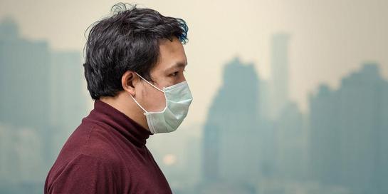 Pencemaran udara secara jangka panjang berdampak pada penyakit asma dan jantung.