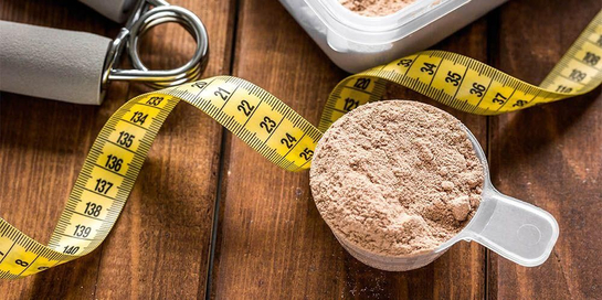 Whey protein adalah protein yang terkandung dalam whey, sisa produksi keju, untuk tingkatkan massa otot