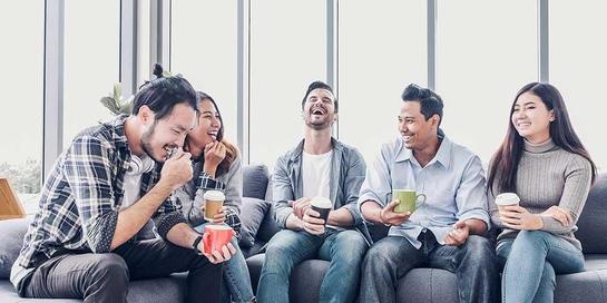 Kepribadian ekstrovert sangat nyaman berada di kelompok