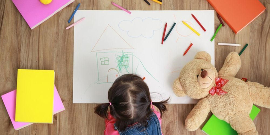 Cara menggambar dapat diajarkan oleh orangtua kepada anak sejak dini