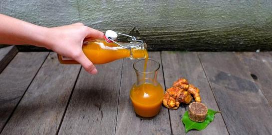 Cara membuat kunyit asam tidak sulit dan bisa dilakukan di rumah