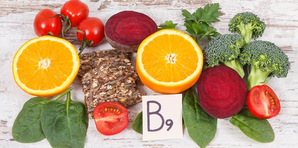 Vitamin B9 adalah vitamin larut dalam air yang penting bagi tubuh