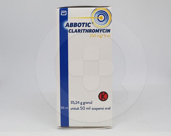 Abbotic granul digunakan untuk mengatasi berbagai macam infeksi bakteri