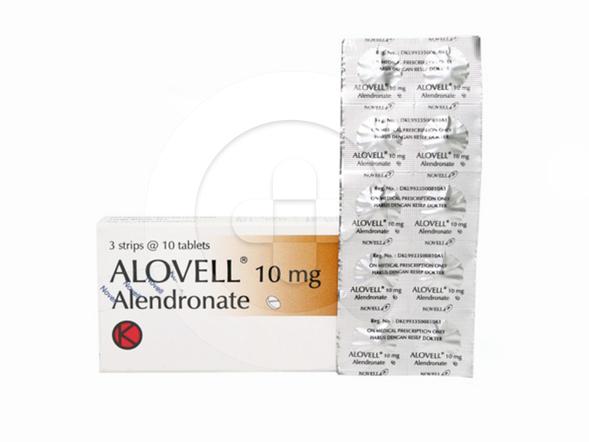 Alovell tablet adalah obat untuk mengatasi dan mencegah osteoporosis pada wanita setelah menopause.
