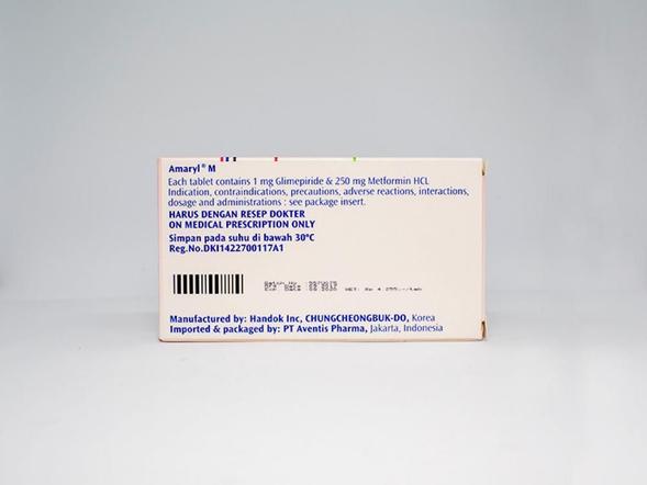 Amaryl-M tablet membantu mengontrol kadar gula darah