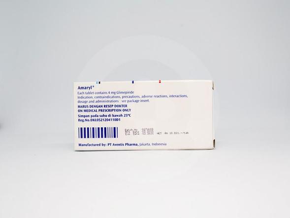 Amaryl digunakan untuk pengobatan diabetes melitus tipe 2