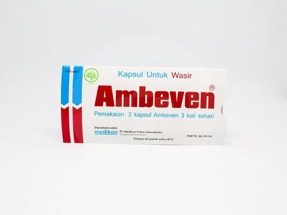 Ambeven kapsul dapat digunakan untuk membantu meringankan gejala wasir