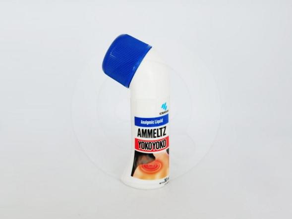 Ammeltz yokoyoko 30 ml meringankan sakit pada otot dan sendi.