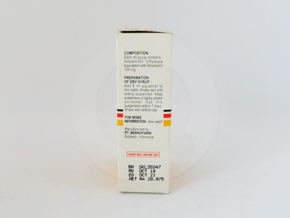 Amobiotic sirup kering 10 ml adalah obat yang digunakan untuk pengobatan infeksi saluran pernafasan atas dan bawah, infeksi saluran kemih, infeksi kulit dan jaringan lunak.