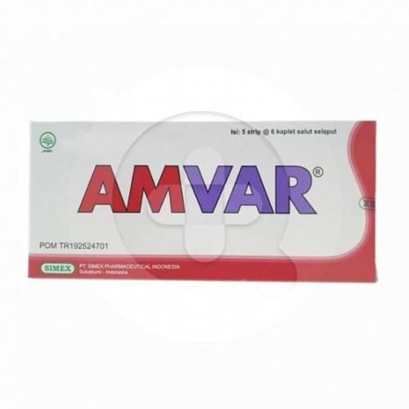 Amvar kaplet merupakan suplemen untuk mengatasi varises, gangguan aliran darah, peradangan pembuluh darah dan wasir.