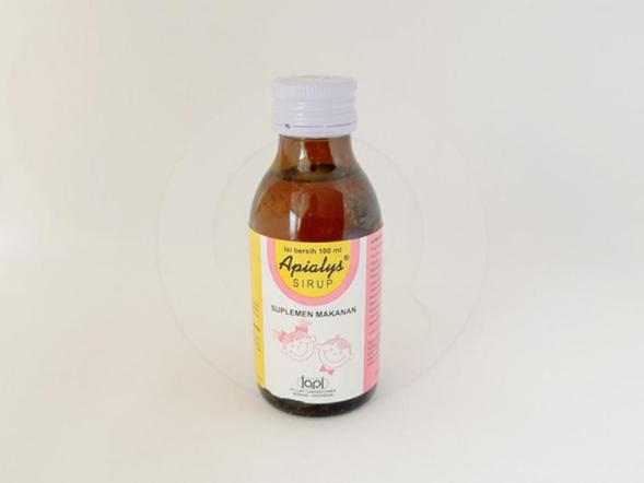 Apialys sirup 100 ml merupakan suplemen untuk menambah nafsu makan dan stamina pada anak selama masa pertumbuhan.