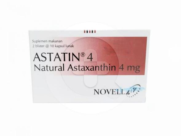Astatin kapsul adalah suplemen untuk memelihara kekebalan tubuh.