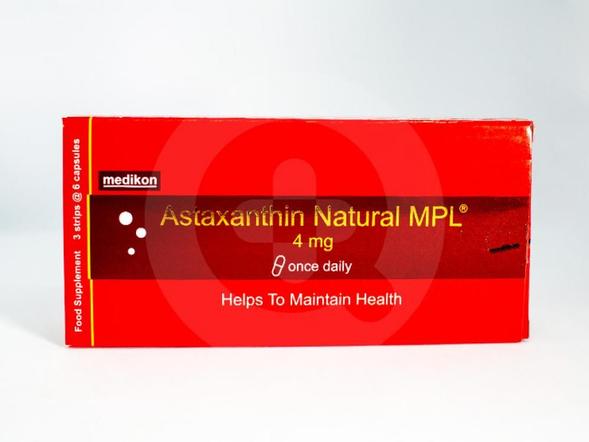 Astaxanthin MPL adalah suplemen untuk daya tahan tubuh