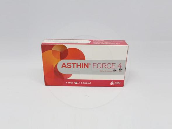 Asthin Force 4 mengandung astaxanthin untuk membantu memelihara kesehatan.