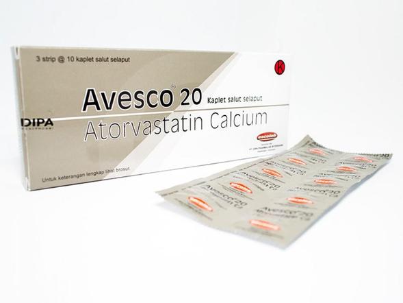 Avesco adalah obat untuk kolesterol total, kolesterol jahat, dan trigliserida serta meningkatkan kolesterol baik