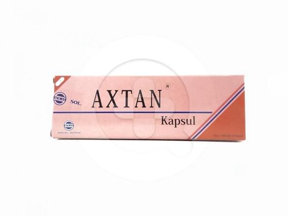 Axtan kapsul digunakan sebagai antioksidan untuk mencegah radikal bebas yang menyebabkan kerusakan sel.
