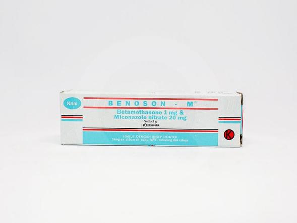 Benoson M krim 5 g