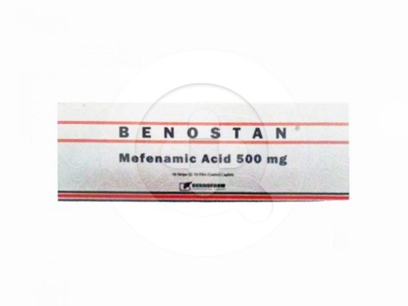 Benostan kaplet adalah obat untuk meredakan nyeri ringan hingga sedang.