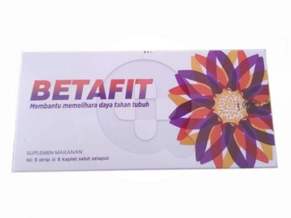 Betafit kaplet merupakan suplemen untuk memelihara kesehatan fungsi hati.