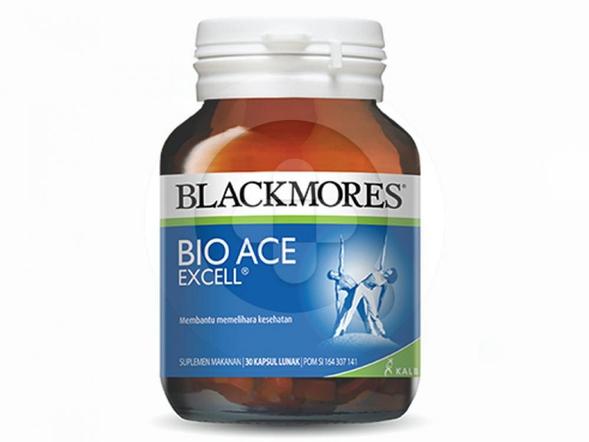 Blackmores Bio Ace Excell digunakan untuk membantu memelihara kesehatan.