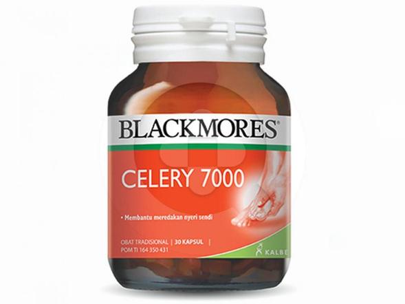 Blackmores Celery 7000 digunakan untuk meredakan nyeri sendi.
