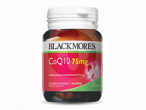 Blackmores Coq10 75 mg kapsul merupakan suplemen untuk kesehatan jantung.