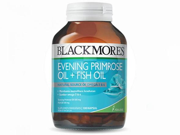 Blackmores Evening Primrose Oil + Fish Oil digunakan untuk membantu memelihara kesehatan.