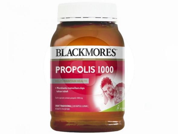 Blackmores Propolis 1000 digunakan untuk membantu memelihara daya tahan tubuh.