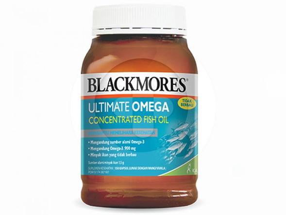 Blackmores Ultimate Omega kapsul merupakan suplemen untuk memelihara kesehatan.