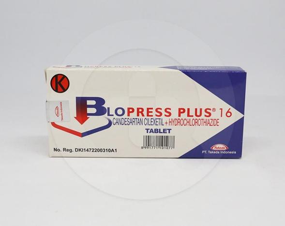 Blopress tablet 8 mg  adalah obat untuk mengobati penyakit hipertensi, gagal jantung,gangguan fungsi sistolik ventrikel kiri