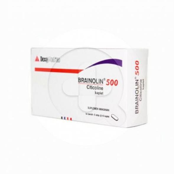 Brainolin tablet adalah obat yang digunakan untuk penyakit stroke dan gangguan fungsi kognitif.